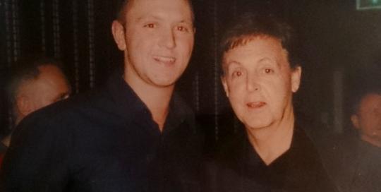 Paul McCartney George Harrison Tribute