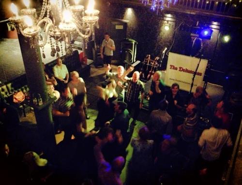 The Blue Bar, Albert Dock, Liverpool