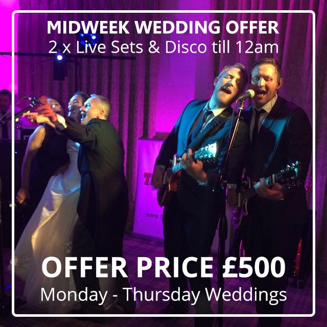 midweek weddings offer